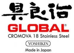 Logo de cuchillos Global Made In Japan