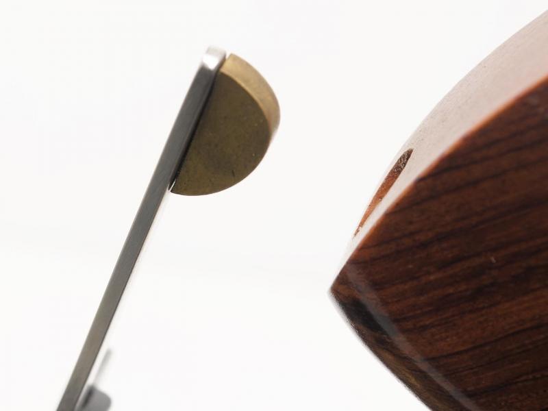 Palanca de ajuste lateral - parte superior