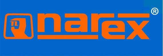 Link te lleva a pagina principal de la fabrica Narex Bystrice, confirmando el distribudor para America Latina.