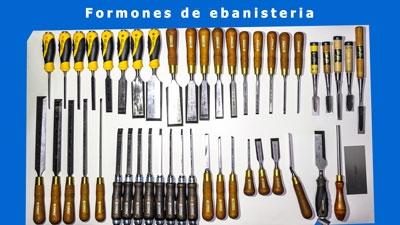 Imagen de los formones especializados para uso enbanisteria